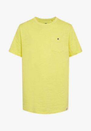 T-shirt basic - bright yellow