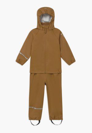 BASIC RAINWEAR SET UNISEX - Pantalones impermeables - rubber