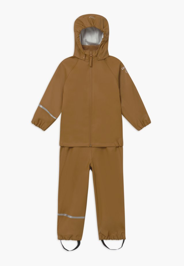 BASIC RAINWEAR SET UNISEX - Regenbroek - rubber