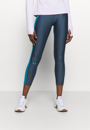 Tights - mechanic blue