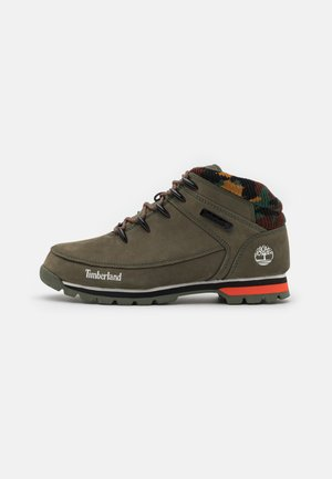 EURO SPRINT HIKER - Lace-up ankle boots - dark green