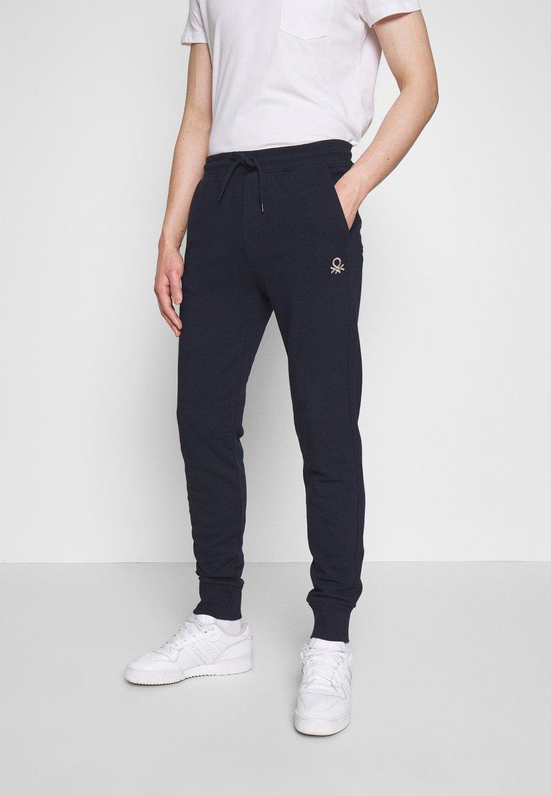 Benetton - TROUSERS - Pantalon de survêtement - darkblue