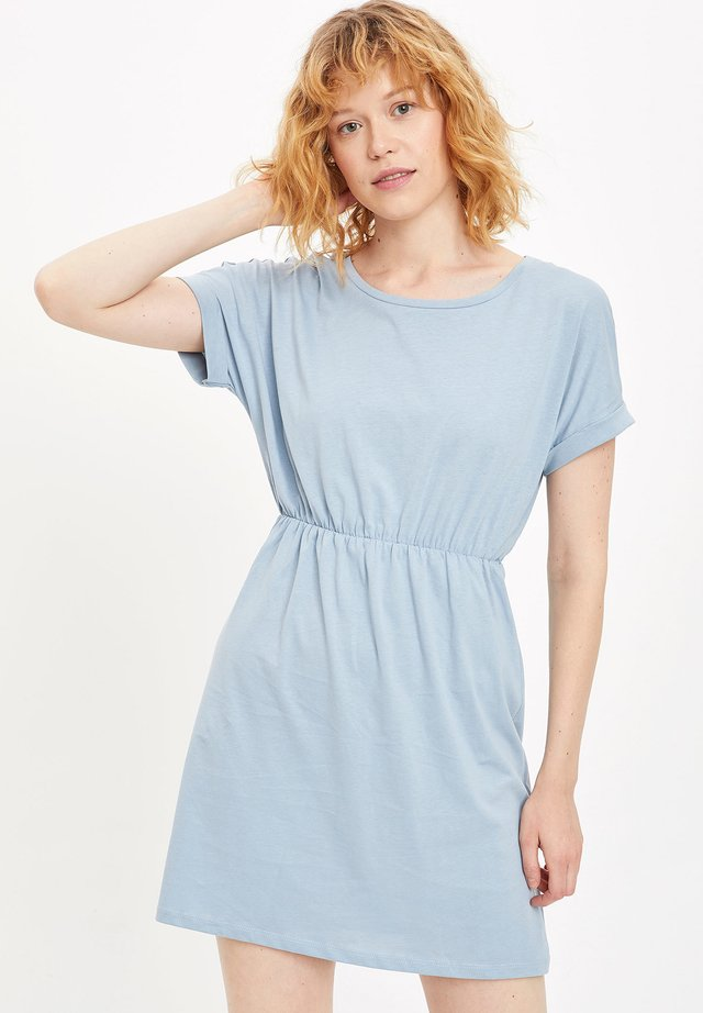 Jersey dress - blue