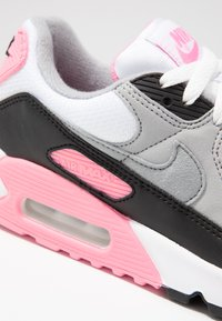 Nike Sportswear - AIR MAX 90 - Sneakers laag - white/particle grey/rose/black/light smoke grey - 2