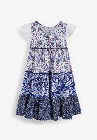 Next - Day dress - blue - 0