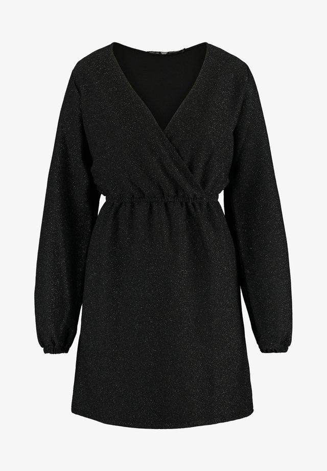 DUNA - Korte jurk - black