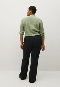 Violeta by Mango - XIPY - Trousers - schwarz - 2