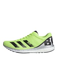 adidas Performance - ADIZERO BOSTON 8 SHOES - Competition running shoes - green - 0