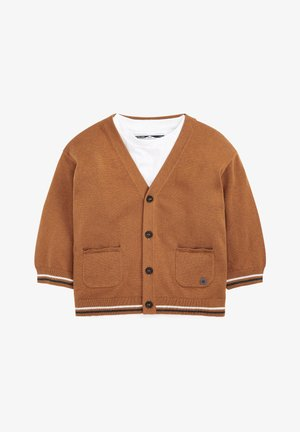 SET - Cardigan - tan