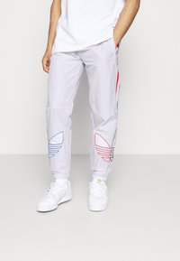 adidas Originals - TRICOL UNISEX - Träningsbyxor - grey - 0