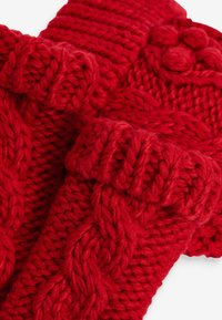 Next - CABLE  SET - Rukavice - red - 3