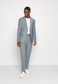 Calvin Klein Tailored - TROPICAL STRETCH SUIT - Traje - blue heather - 1