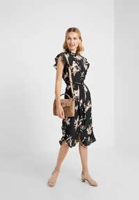 Lauren Ralph Lauren - DRESS - Sukienka koszulowa - black/multi