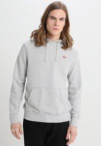 Levi's® - ORIGINAL HOODIE - Luvtröja - medium grey heather - 0