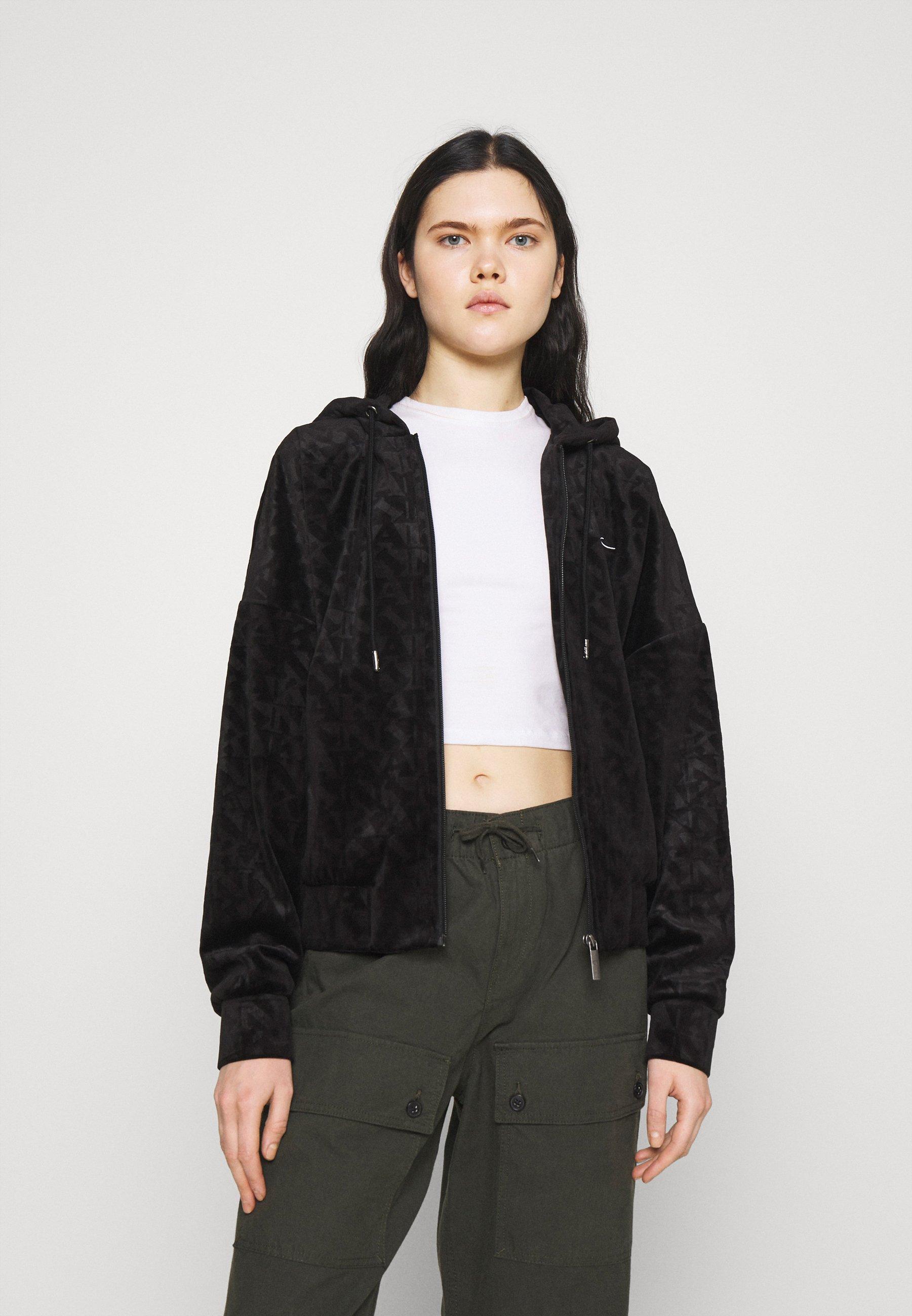 Women CHEST SIGNATURE JACKET - Zip-up sweatshirt