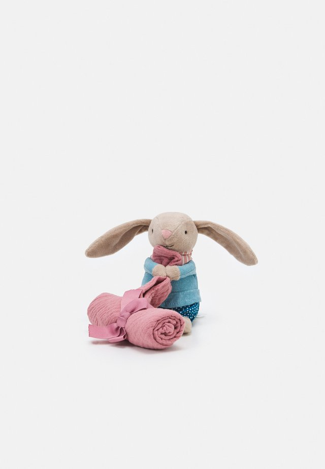LITTLE RAMBLER BUNNY SOOTHER UNISEX - Panno coccole - beige