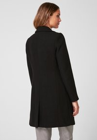 s.Oliver BLACK LABEL - MANTEL - Classic coat - black