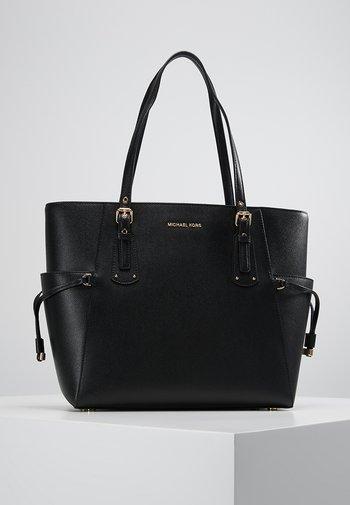 VOYAGER TOTE - Handbag - black