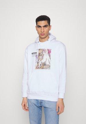 ARTSY HOODIE UNISEX - Sweatshirt - white
