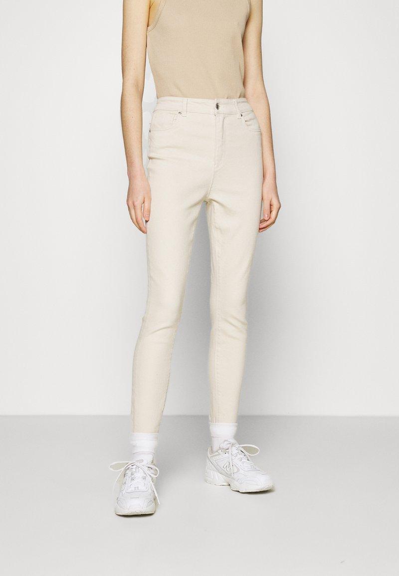 ONLY - ONLMILA LIFE - Jeans Skinny Fit - ecru