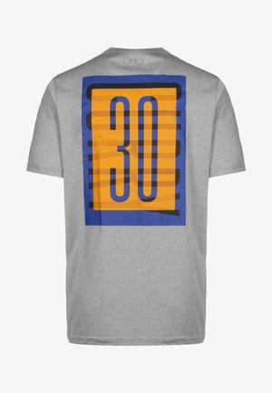 SC30 OVERLAY SS TEE - Print T-shirt - grey