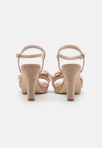 Anna Field - LEATHER - Sandály na vysokém podpatku - beige - 3