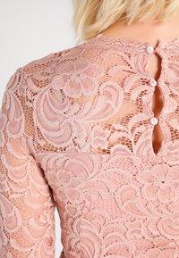 MAMALICIOUS - MLMIVANA DRESS - Vestido de cóctel - misty rose - 3
