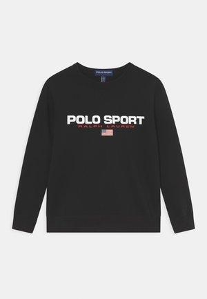 Sweatshirt - polo black