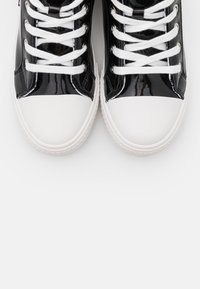 Love Moschino - LABEL SOLE - Sneakers hoog - black - 6