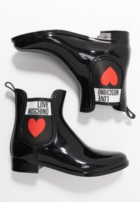 Love Moschino - Wellies - nero - 3