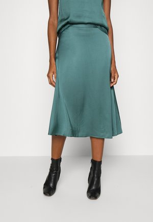 SKIRT - Áčková sukně - teal blue