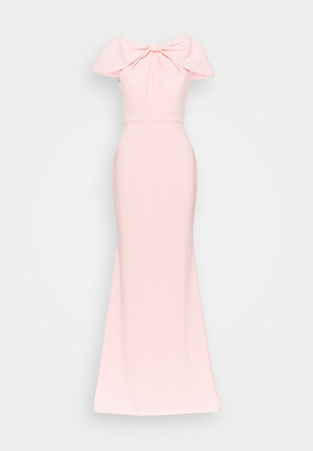 CAPE MERMAID GOWN - Společenské šaty - blush