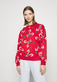 Monki - Sweatshirt - red - 0