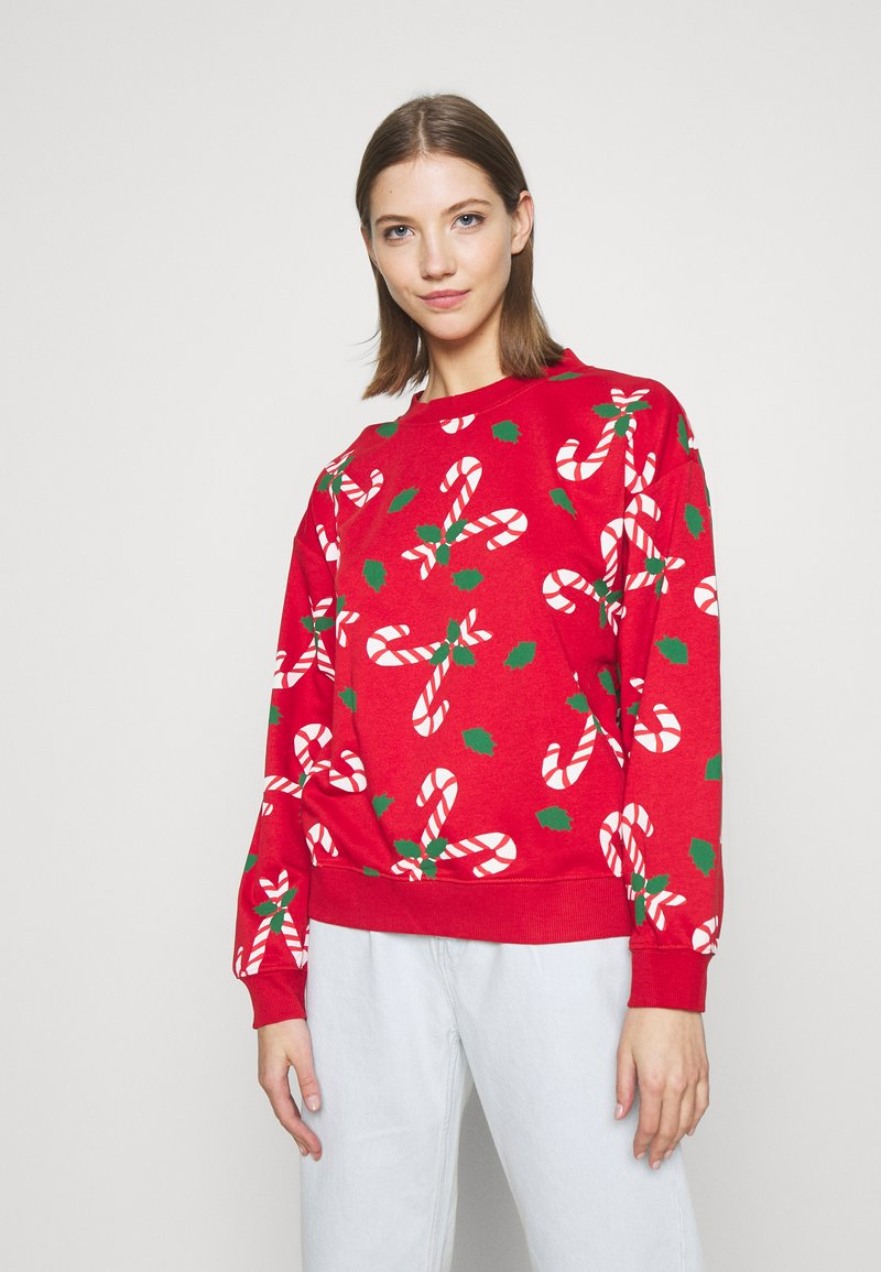 Monki - Sweatshirt - red