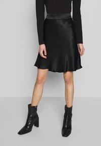 Second Female - EDDY SHORT SKIRT - A-line skirt - black - 0