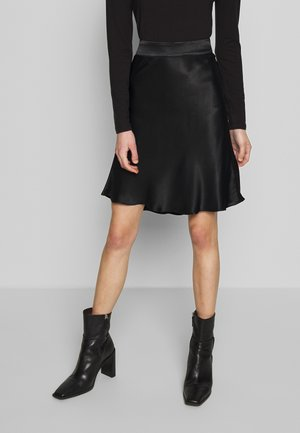 EDDY SHORT SKIRT - A-line skirt - black
