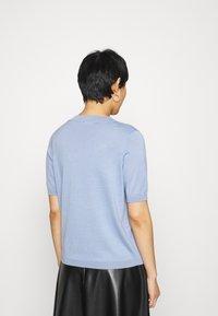 Lindex - POLLY - Basic T-shirt - light blue - 2