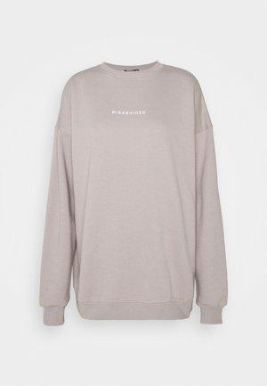 BASIC OVERSIZED - Sweater - grey