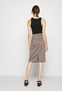 Part Two - TAMIKA - Pencil skirt - brown - 2