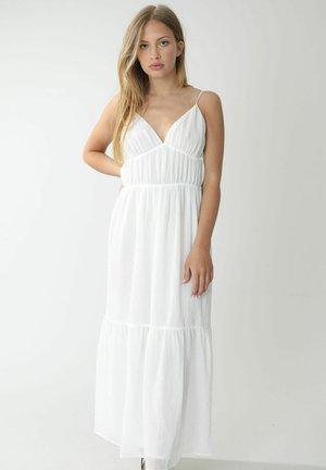 Maxi dress - altweiß