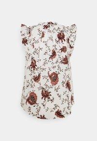 Bruuns Bazaar - ASTER SABIHA - Print T-shirt - offwhite - 1