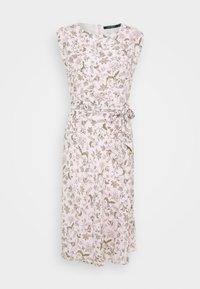 Lauren Ralph Lauren - VILODIE CAP SLEEVE CASUAL DRESS - Vestido informal - pink multi - 6