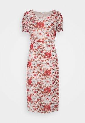 VISALINA MIDI DRESS - Day dress - burnt ochre