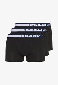 Tommy Hilfiger - TRUNK  3 PACK - Underkläder - black - 3