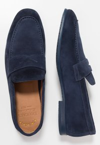Doucal's - PENNY LOAFER - Mocassini eleganti - indaco - 1