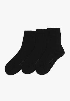FAMILYBUNDLE 3 PACK - Socks - black