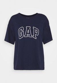 GAP - EASY TEE - T-shirts med print - navy - 0