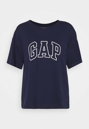 EASY TEE - Camiseta estampada - navy