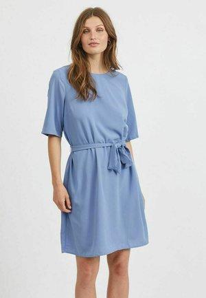 MINIKLEID KURZÄRMELIG - Day dress - colony blue