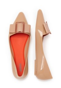 Melissa - POINTY - Bailarinas - beige/red - 2